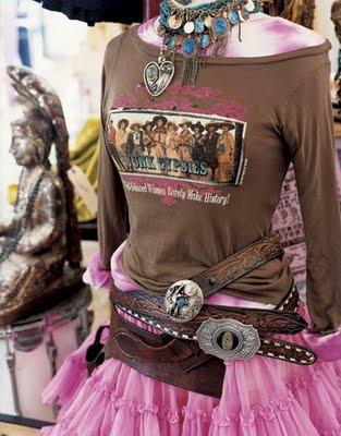 Junk Gypsy - Dress-form-belts-jewelry-