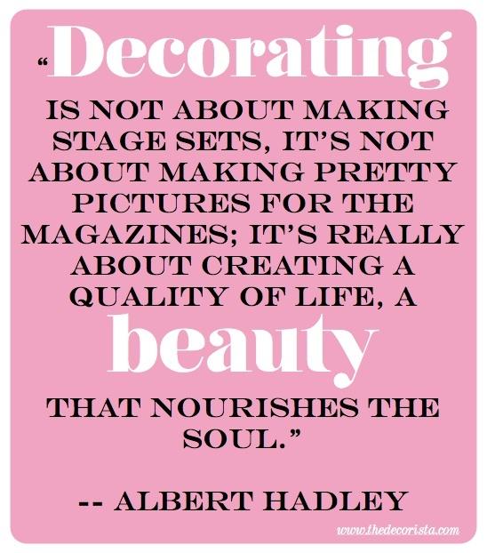 Decorating Albert Hadley