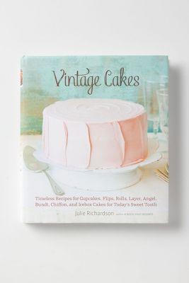 Anthropologie Vintage Cakes Cookbk
