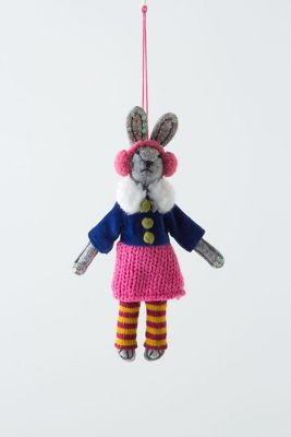 Anthropologie Pollyanna Bunny Orn