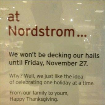 Nordstrom's Bulletin