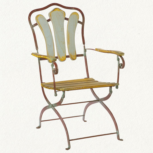 French Folding Chair Wanelo