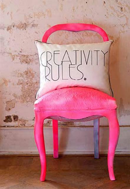 Design workshop Image 4 Pink chair